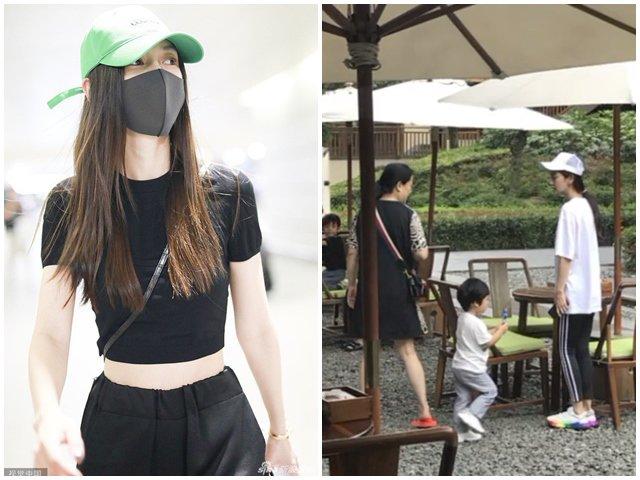Chỉ một chi tiết nhỏ, Angelababy ngầm tố Huỳnh Hiểu Minh cắm sừng vợ, một mình mang con đi chơi