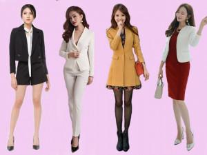 Các mẫu áo vest chuẩn mốt giúp các nàng công sở ghi điểm tuyệt đối trong mắt đồng nghiệp