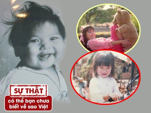 Trố mắt nhìn ảnh hồi nhỏ của Hà Anh, vợ Lý Hải: Giống một người đến ngỡ ngàng