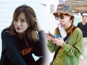 Làm đẹp - Để nguyên mặt mộc tới sân bay, Triệu Vy khiến dân tình ngưỡng mộ bởi trẻ trung hệt gái 20