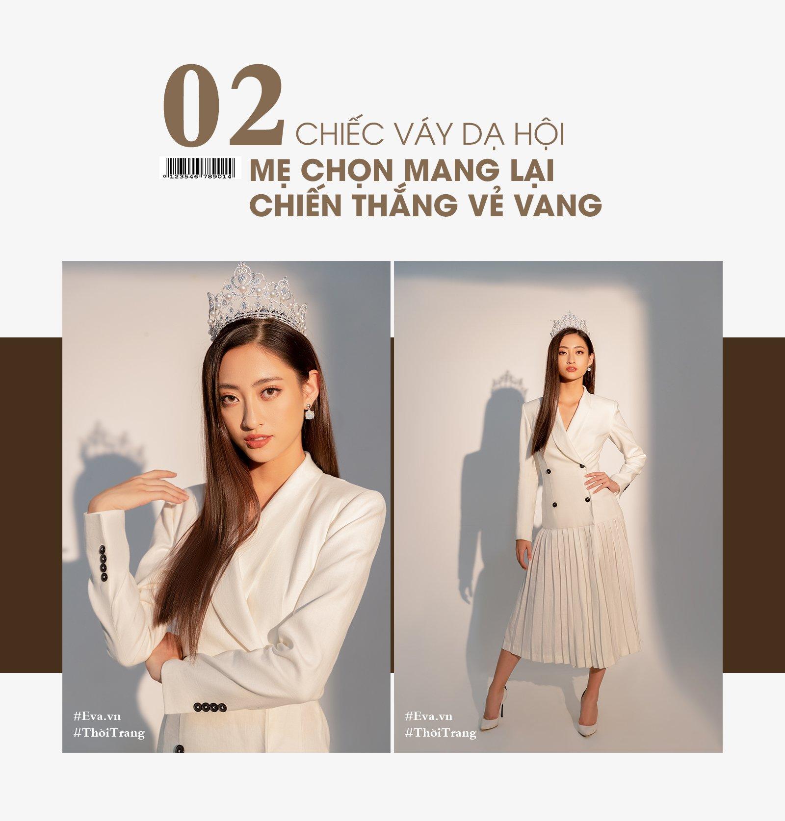 """hoa hau luong thuy linh: """"toi phai di muon cua ban 6 chiec vay de thi miss world viet nam."""" - 6"""