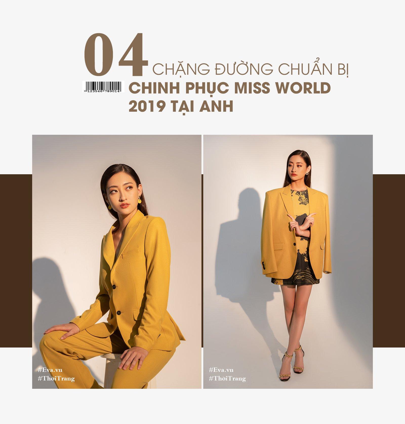 """hoa hau luong thuy linh: """"toi phai di muon cua ban 6 chiec vay de thi miss world viet nam."""" - 14"""