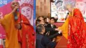 """""""Đường Tăng đẹp nhất Trung Quốc"""" mặc áo cà sa đi hát ở hội chợ bình dân"""