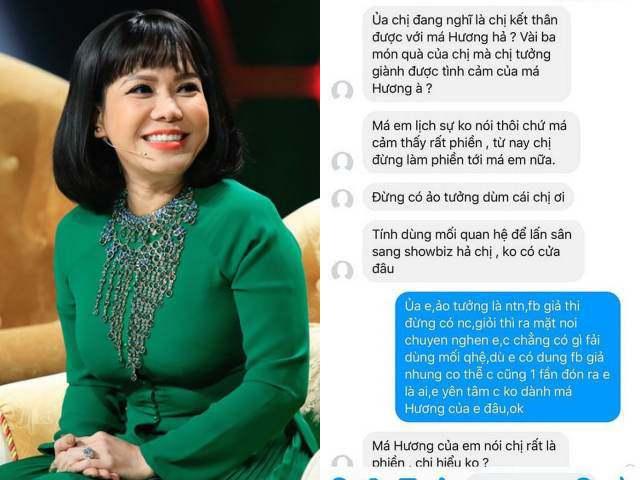 Nhiều người bênh vực khi Việt Hương nổi đoá, mắng chửi fan cuồng không có giáo dục