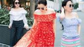 Bất chấp thân hình mũm mĩm, Phượng Chanel vẫn đam mê diện áo bẹt vai, hoá ra là có chiêu