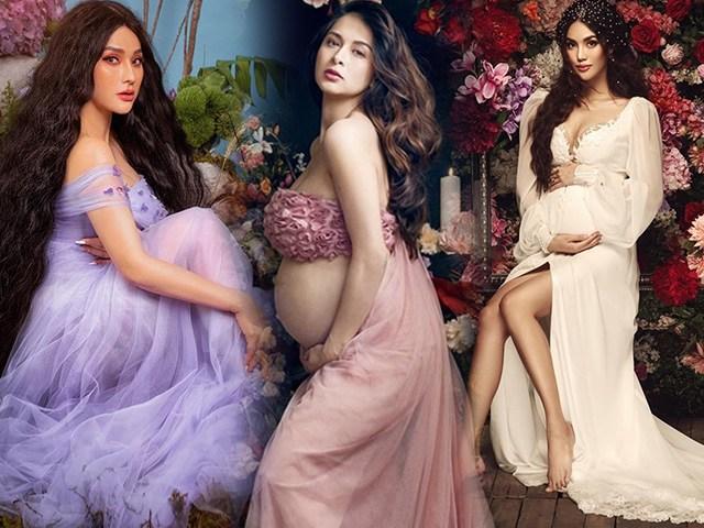 Bầu vượt mặt vẫn hóa nữ thần: mỹ nhân đẹp nhất Philippines, Thu Thủy hay Lan Khuê nhuận sắc nhất?