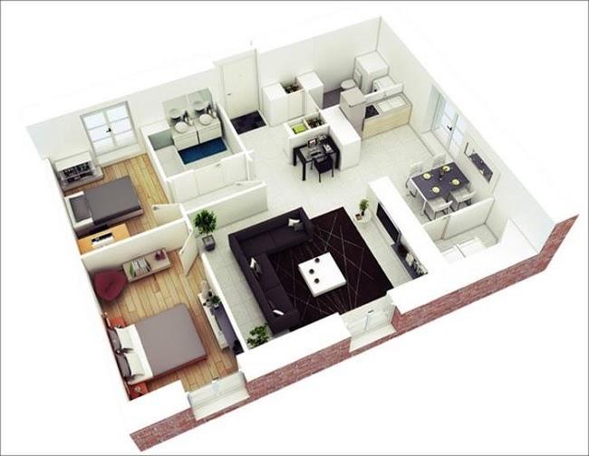 Mẫu nhà đẹp 2020 phổ biến với nhà cấp 4 và kiểu nhà tầng - 1