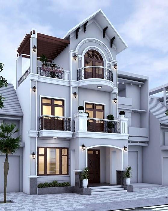 Mẫu nhà đẹp 2020 phổ biến với nhà cấp 4 và kiểu nhà tầng - 22