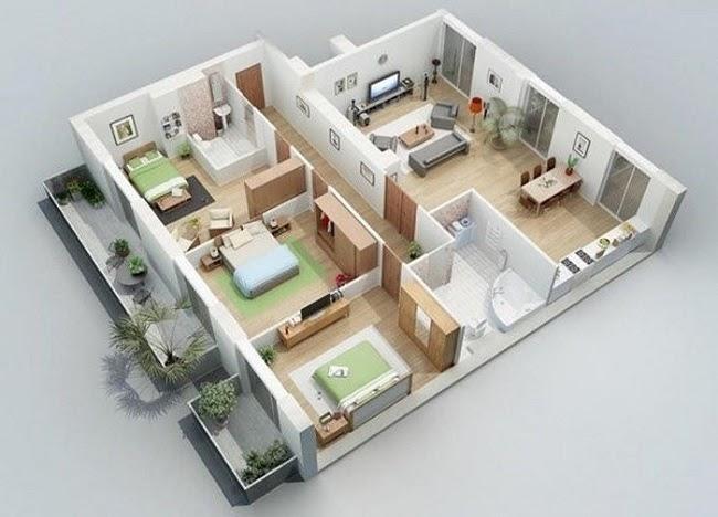 Những mẫu nhà cấp 4 đẹp 100m² chỉ với 350 - 400 triệu đồng cho mọi gia đình - 10