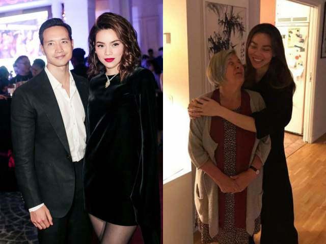Bầu vượt mặt, chưa cưới nhưng Hồ Ngọc Hà đã đổi cách xưng hô với mẹ Kim Lý