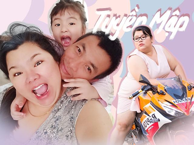 Hậu đám cưới với chồng kém 40kg, 5 năm qua Tuyền Mập sống một mình nuôi con, muốn ly hôn