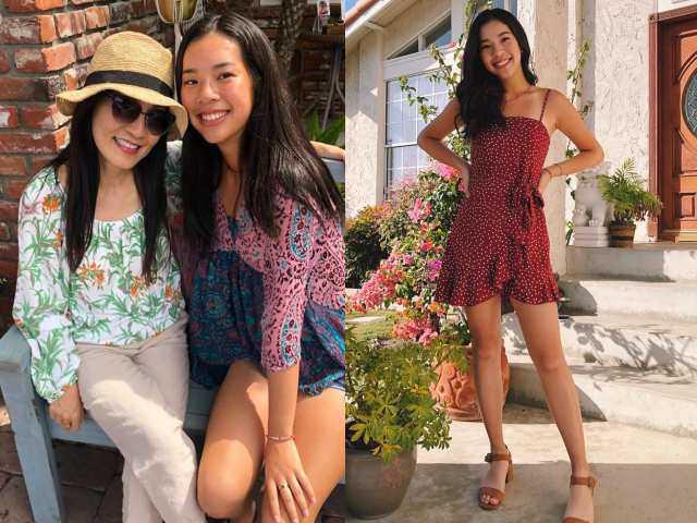 Hồng Đào khoe con gái 18 tuổi cao vượt trội và xinh như Hoa hậu