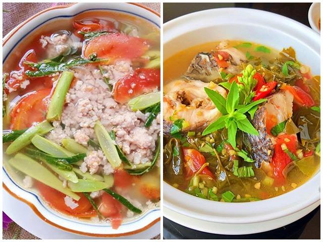 7 món canh chua dễ nấu, chan vào cơm là thích, nắng nóng mấy cả nhà cũng không chán ăn