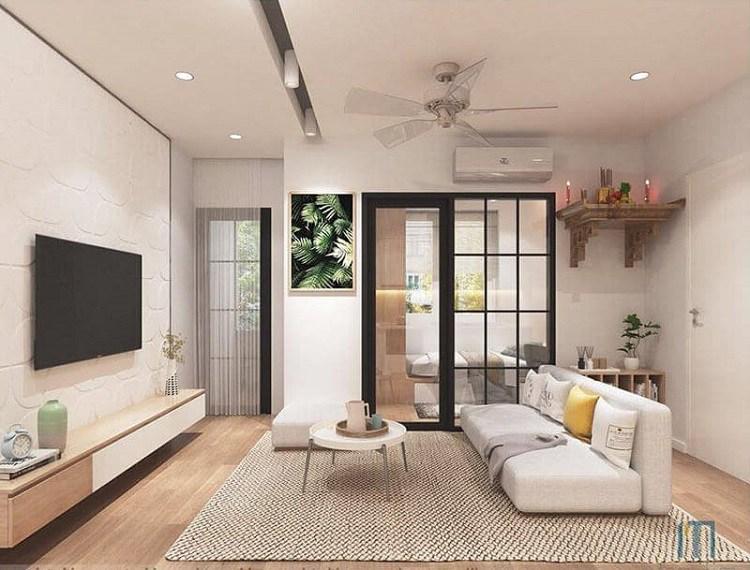 20+ Mẫu phòng khách đẹp, hiện đại và sang trọng nhất 2020 - 9