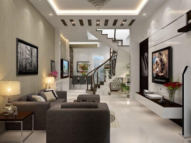 20+ Mẫu phòng khách đẹp, hiện đại và sang trọng nhất 2020 - 5