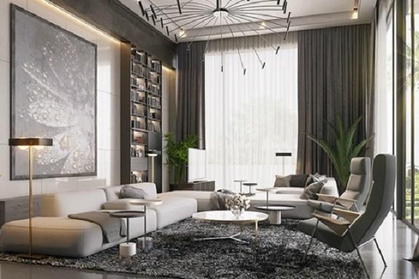 20+ Mẫu phòng khách đẹp, hiện đại và sang trọng nhất 2020 - 3