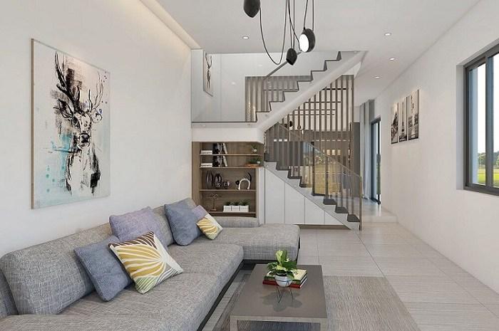20+ Mẫu phòng khách đẹp, hiện đại và sang trọng nhất 2020 - 12