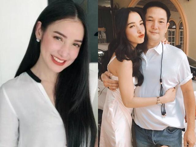 Mỹ nhân Thái chụp hình với bố đẻ từng là anh trai, fan nhầm tưởng là chồng mới