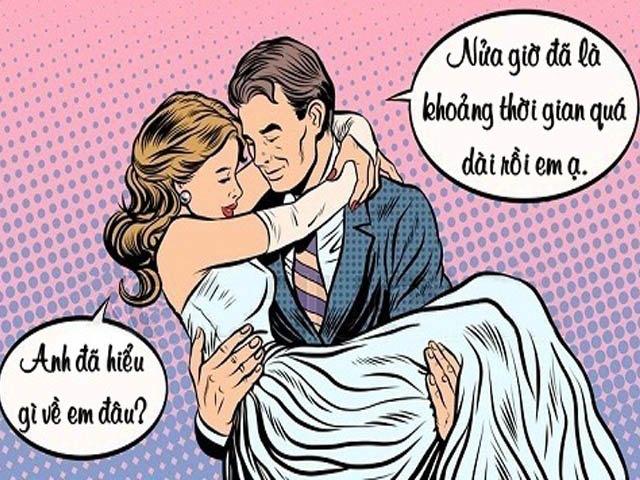 Truyện cười hay: Cạn lời khi biết nền tảng của một cuộc hôn nhân cấp tốc