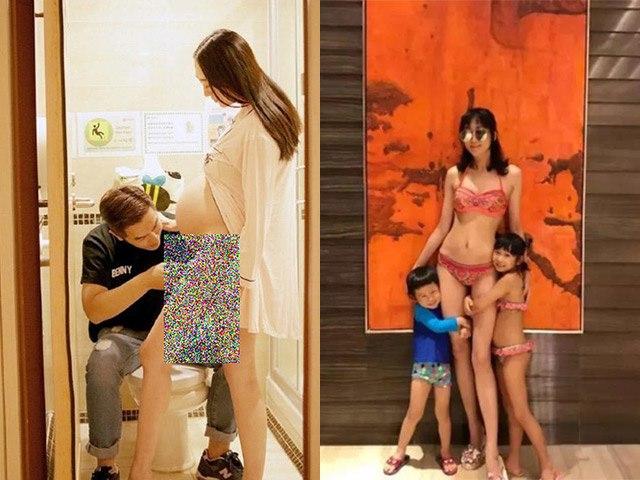 Á hậu được chồng đại gia vệ sinh vùng dưới, giờ ở nhà thuê bán hàng nuôi 4 con