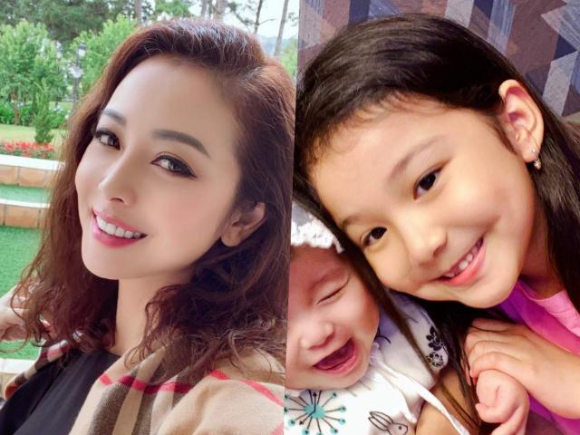Lâu không xuất hiện, con gái cả của Jennifer Phạm ngày càng giống hệt mẹ, nhan sắc chuẩn hoa hậu