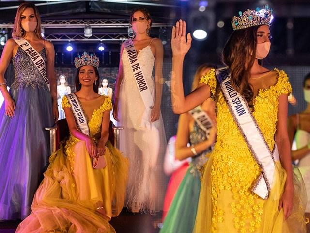 Phần thưởng cho Tân Hoa hậu Tây Ban Nha mùa Covid-19: được bỏ khẩu trang vài giây để chụp ảnh