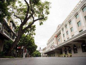 Bất ngờ hình ảnh phố đi bộ Hà Nội vắng như Tết ngày cuối tuần