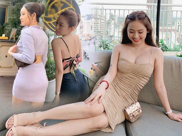 Lộ vòng 3 gồ ghề khi diện đồ ôm sát, liệu đây là thứ Thuý Vi dùng dưới lớp váy?