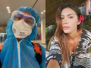 Trở về sau 4 tháng kẹt ở Bali, Minh Tú lại gặp họa, bị đồn đòi hỏi khi cách ly