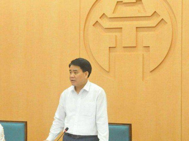 Chủ tịch Nguyễn Đức Chung đề nghị nâng mức cảnh báo COVID-19 tại Hà Nôi