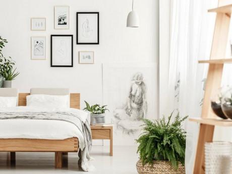Cách trang trí phòng ngủ nhỏ hẹp cho kết quả rộng gấp đôi