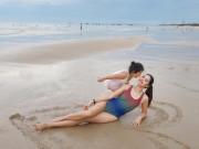 Hương Giang khoe ảnh bikini, tiết lộ chồng đại gia hiện đang kẹt ở nước ngoài, một mình nuôi con