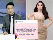 Bị cho là ám chỉ Hương Giang không phải phụ nữ thuần chủng, nam MC giải thích