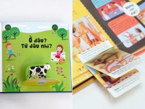 Bộ sách tương tác bách khoa tri thức độc đáo dành cho trẻ em từ 3 đến 8 tuổi