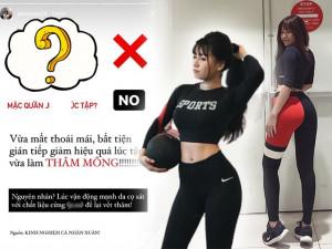 Bạn gái Văn Lâm tránh xa 1 kiểu quần tập gym, vừa giảm hiệu quả vừa làm thâm vòng 3
