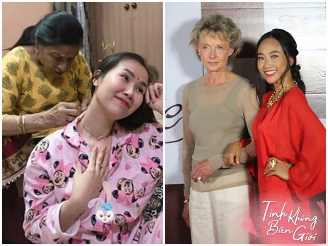 Mỹ nhân Việt làm dâu nước ngoài: Mang măng khô, gạo nếp sang biếu, mẹ chồng khóc vì nhớ dâu