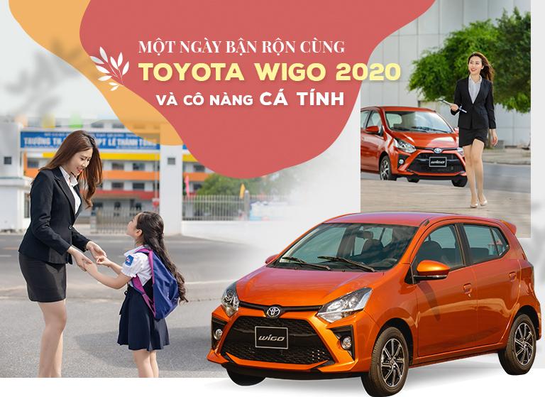 Một ngày bận rộn cùng Toyota WIGO 2020 và cô nàng cá tính - 2