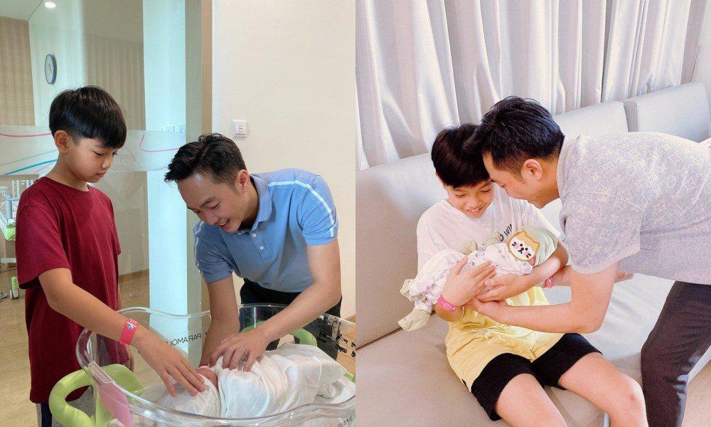 Hà Hồ vừa sinh đôi, con gái mới sinh Cường Đô la lộ điểm