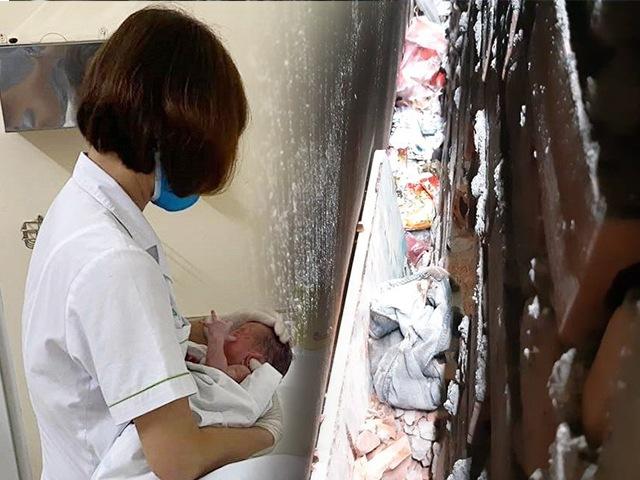 Vụ bé sơ sinh bị bỏ giữa khe tường: Nghe âm thanh lạ như tiếng mèo kêu từ 3h sáng