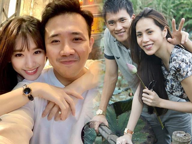 Khi vợ chồng sao Việt khoe mặt mộc: Trấn Thành - Hari Won thua xa loạt cặp đôi