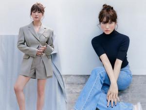 Gu thời trang ngày một tinh tế, Song Hye Kyo khoe chân nuột nà dù chẳng đi giày cao gót