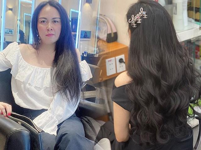 Chán làm xoăn bồng bềnh, Phượng Chanel đổi kiểu tóc mới tinh khôi: đâu ngờ đây là mẹ 3 con!