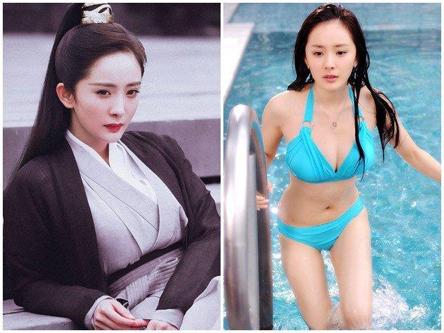 Phim Trung Quốc gây cười với cảnh nữ cải nam trang vòng một nhô cao, trang điểm như con gái