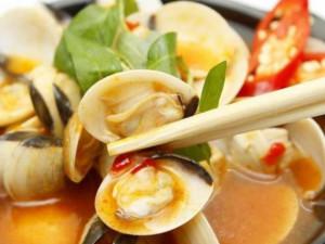 Cách làm nghêu hấp Thái hương vị mới cho cả nhà thưởng thức