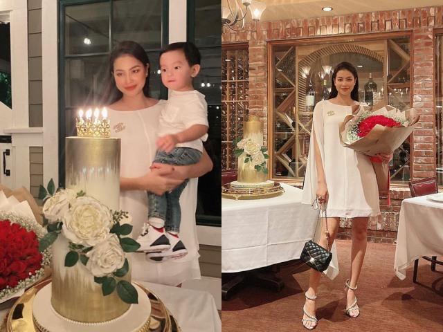 Thừa nhận tăng 10 kg đến tròn xoe, Phạm Hương bị nghi mang bầu lần 2