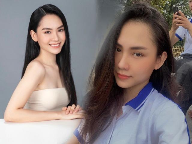 Học trò Võ Hoàng Yến đi thi Hoa hậu Việt Nam 2020: Nhan sắc đáng gờm, lại là Hoa khôi