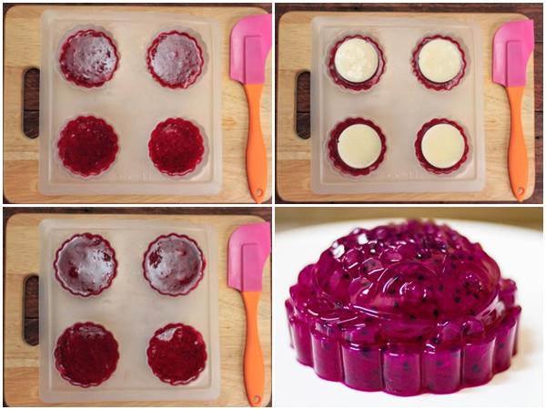 Cách làm bánh Trung thu rau câu ngon đơn giản tại nhà mà đẹp hết ý - 19