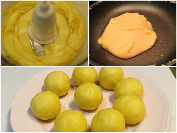 Cách làm bánh trung thu trứng muối và trứng muối tan chảy cực đơn giản - 4