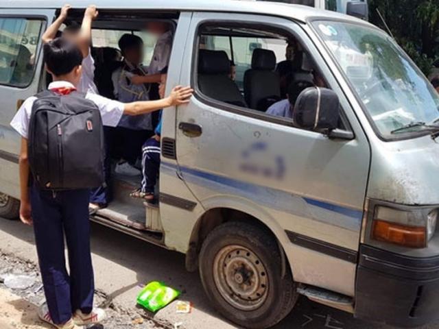 Hà Nội: Học sinh lớp 3 trường tiểu học Đoàn Thị Điểm bị bỏ quên trên xe đưa đón