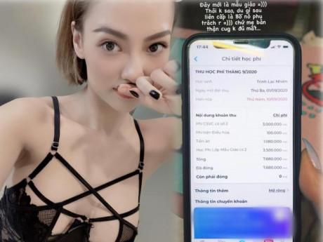 Hậu bị vợ cũ Việt Anh tố nợ không trả, Hồng Quế khoe đóng học mẫu giáo hẳn 7 triệu